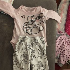 Disney 6 month 2 pc set